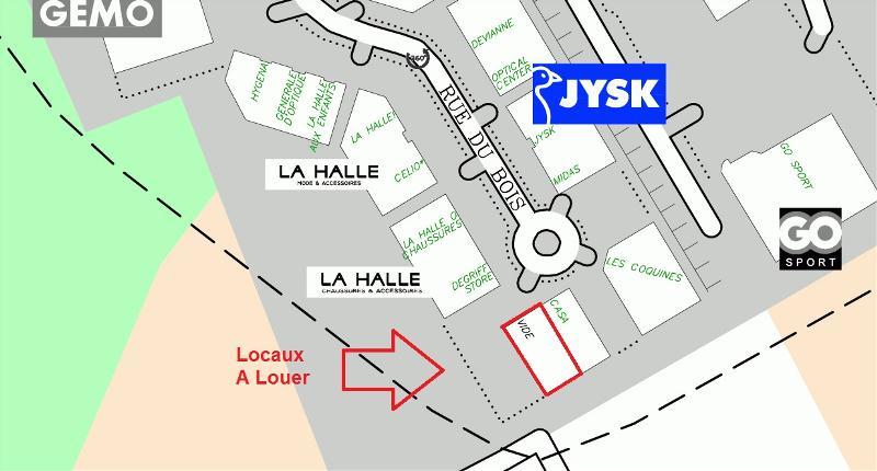 LOCAUX COMMERCIAUX à Louer
